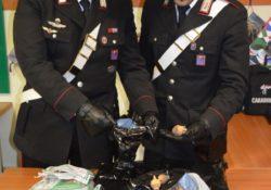 Sesto Campano / Venafro. Carabinieri sequestrano borsa contenente 8 capsule essiccate di papavero da oppio.
