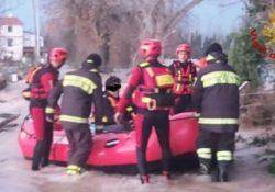 Puglianello. Maltempo, straripa il fiume Volturno: 150 interventi dei vigili del fuoco nelle ultime 24 ore.