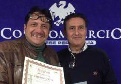 """Sannio / Premio """"Arco di Traiano"""" per Arturo Bascetta: autore di """"Scartoffie Beneventane del 1400"""", già Premio Unesco Napoli 1987."""