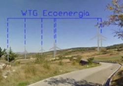Molinara. Parco eolico, la preoccupazioni dei locali residenti: 5 aerogeneratori da 2000 KW, alti 95 metri con un rotore di 110 metri.