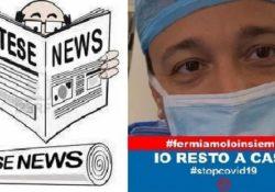"""CALVI RISORTA. """"In questo momento in Italia tutti i medici chiedono il lockdown, il Governo non può restare sordo"""": l'appello del sindaco Lombardi."""