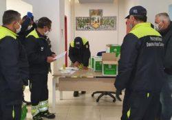 PIANA DI MONTE VERNA / GIOIA SANNITCA. Al via la distribuzione delle mascherine fatte recapitare dalla Regione Campania: la consegna dal Nucleo dei Volontari di Protezione Civile.