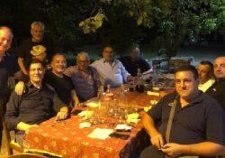 """CAPRIATI AL VOLTURNO / Verso le Regionali 2020. Massimo Grimaldi fa tappa nel matesino: cena con gli """"amici giusti""""."""