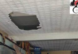 San Lorenzello / Cerreto Sannita. Colpo in un bar tabacchi: i ladri si calano dal tetto sfondando le lamiere.
