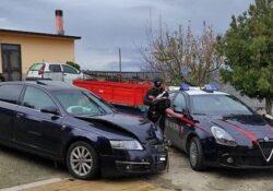 San Bartolomeo in Galdo / Sannio. Furto in un supermercato, i carabinieri recuperano l'auto utilizzata e parte dei soldi: caccia aperta ai malviventi.
