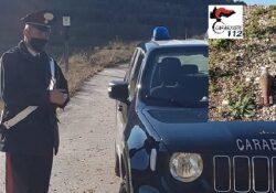 Monteroduni. Rinvenute due bombe da mortaio americane: i carabinieri le fanno brillare.