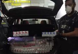 Caserta / Provincia. Contrabbando di sigarette: 4 arresti, una denuncia, 20 quintali di sigarette sequestrate.