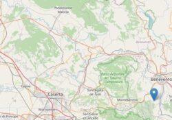 Ceppaloni / San Leucio del Sannio. Terremoto di magnitudo Magnitudo 3.1: lo sciame sismico continua.