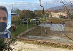 PRATA SANNITA. Nuovo complesso sportivo con campo da padel, bocce, tennis, calcio, spogliatoio, parco giochi per bambini: proseguono i lavori, promette il sindaco De Rosa.