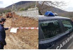 ROCCHETTA E CROCE / CALVI RISORTA. Sequestrata area interessata da illeciti sbancamenti e livellamenti abusivi: operazione dei Carabinieri Forestale.