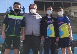 SPARANISE / BELLONA. Giovani atleti casertani in evidenza nella due giorni di atletica a Salerno, Napoli e Casal di Principe.