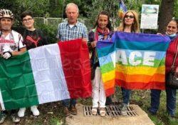 PIEDIMONTE MATESE. 2 Giugno festa della Repubblica democratica davanti all'Albero della Pace piedimontese.