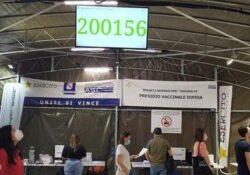Caserta / Provincia. La caserma dei record: superate le 200mila dosi di vaccini anti-Covid.