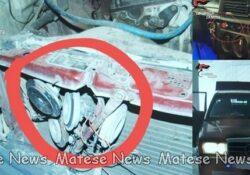 Caserta / Provincia. A bordo di auto dotata di sirena e lampeggianti: due albanesi arrestati dai carabinieri.