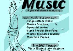 """Telese Terme. """"World Music, il giro del mondo in musica"""": lungo Viale Minieri l'evento organizzato dal Comune."""