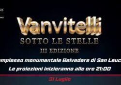 """Caserta / Provincia. """"Vanvitelli sotto le stelle"""", al via la 3° edizione rassegna di cinema ideata da Confcommercio."""
