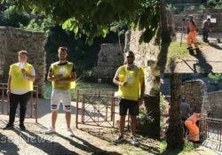 """Telese Terme. Parco Jacobelli, rimosse recinzioni. """"Provvedimento tempestivo era indispensabile per la sicurezza. Abbiamo a cuore quell'area""""."""